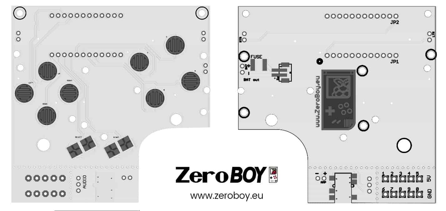 ZeroBOY PCB 2 0 • ZeroBOY Projekt