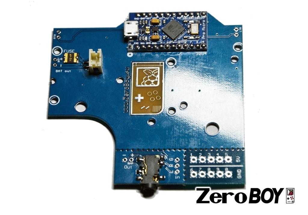 ZeroBOY PCB 2.1 • ZeroBOY Projekt