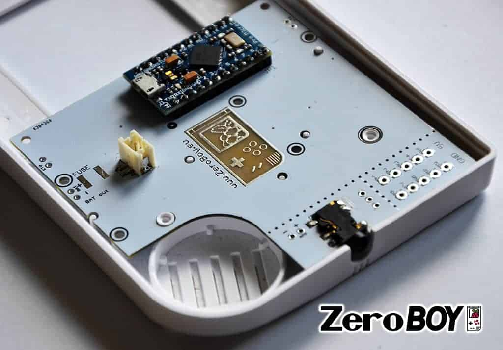 ZeroBOY PCB 2.0 • ZeroBOY Projekt